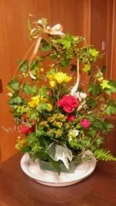 花かご(自宅)